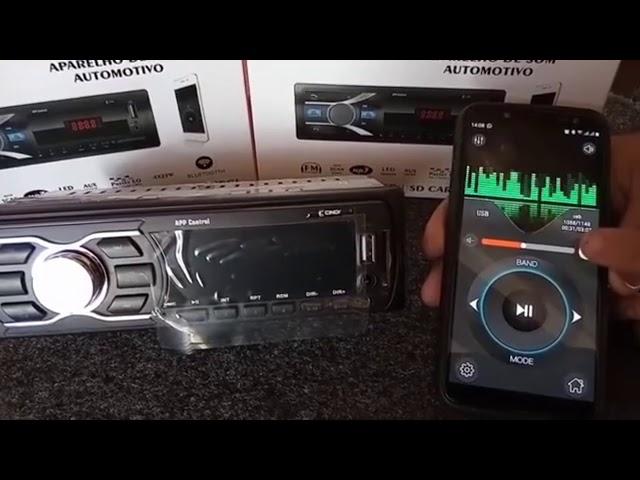 Rádio Bluetooh App Control, Smartphone vira controle de longa distancia Cinoy YN-RAD50681