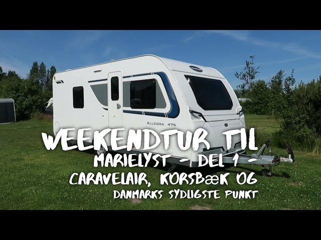 Weekendtur til Marielyst - Del 1 - Caravelair, Korsbæk og Danmarks sydligste punkt