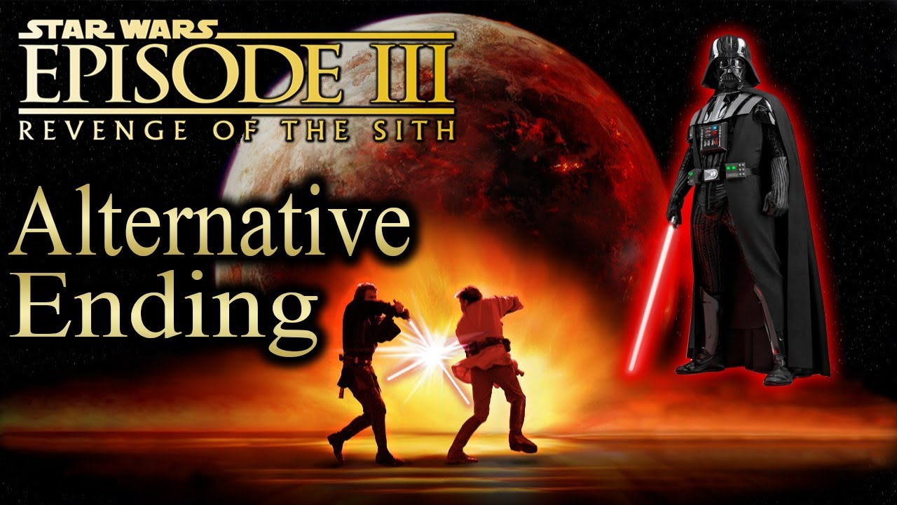 Star Wars Iii Revenge Of The Sith Ps2 Playthrough Non Commentary Part 14 Alternative Ending Youtube