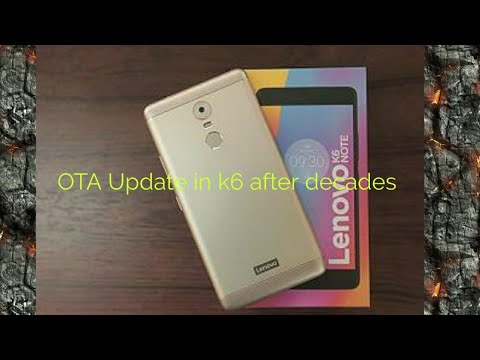 Lenovo K6 Power 79mb Update Phone Working Like A Charm - The