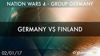 Germany vs Finland - Nation Wars 4 Group Germany - Winners side - Starcraft II - EN(Inscrivez-vous sur le site O'Gaming pour participer et réagir aux émissions : http://www.ogaming.tv/inscription ♢ Retrouvez toutes nos VoDs sur ..., 2017-01-04T10:07:15.000Z)