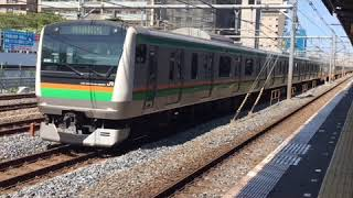 2018年9月19日南浦和駅似て撮影