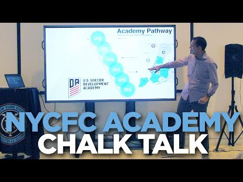 Behind the Scenes look at being in NYCFC's Academy | Chalk Talk | 09.13.17