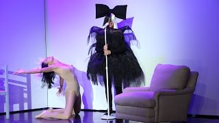Heidi Klum Full interview on Ellen Show [Sia-nsational Halloween Costume]