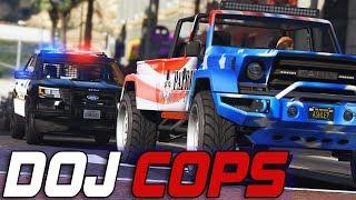 Dept. of Justice Cops #721 - Patriotic Red-Light Runner