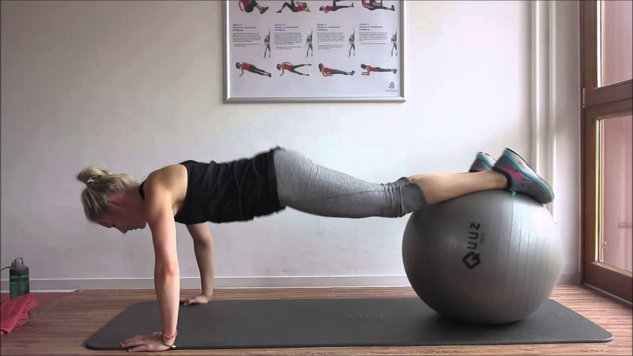 gymnastikball workout bauchmuskeln twinfit youtube. Black Bedroom Furniture Sets. Home Design Ideas