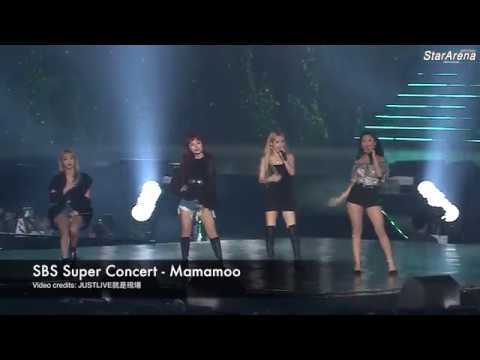 2018 SBS Super Concert in Taipei - Mamamoo (Special Stages + Starry Night)