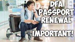 PANOORIN BAGO ANG PASSPORT RENEWAL SA DFA