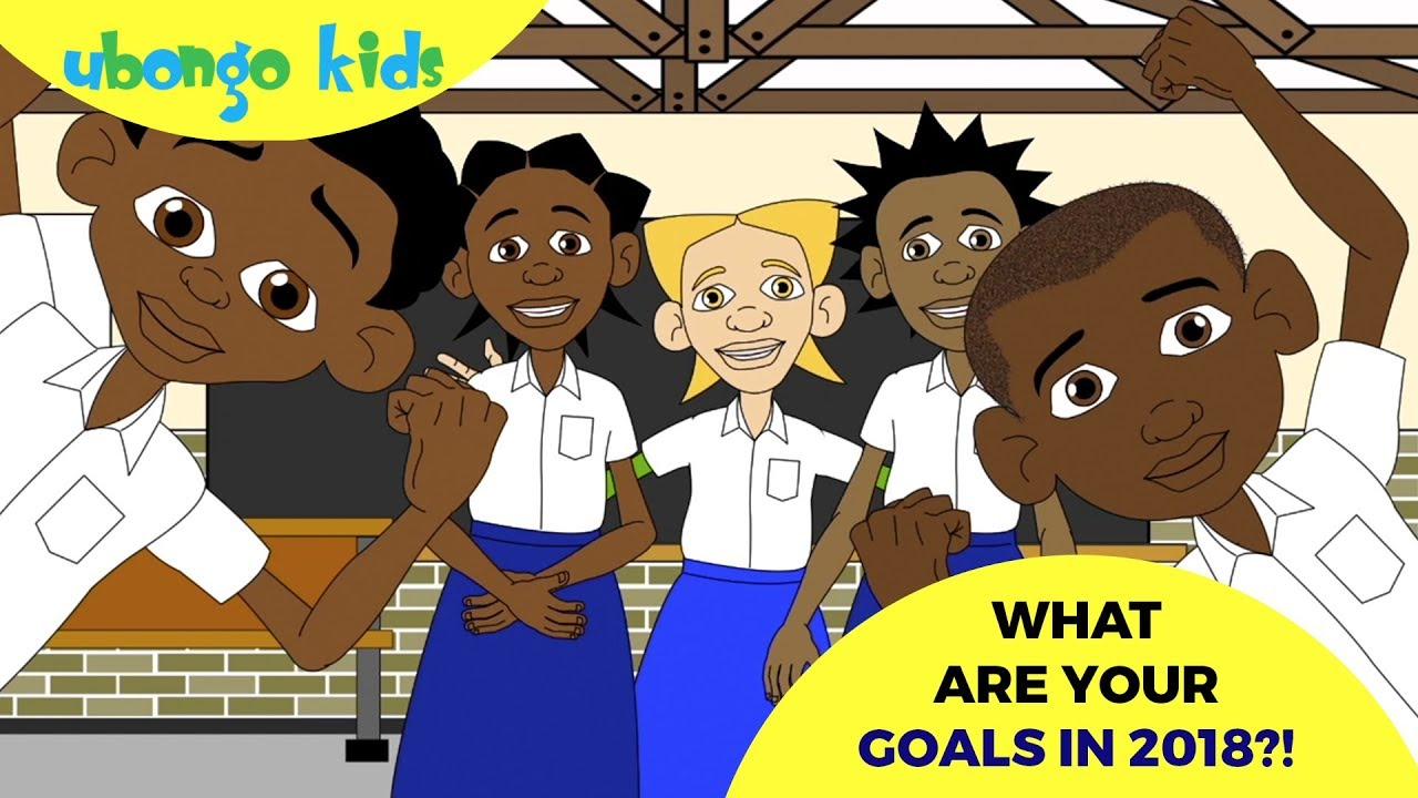 What Are Your Goals?  | Ubongo Kids  | Educational Cartoons