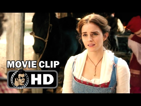 "Thumbnail: BEAUTY AND THE BEAST Movie Clip - ""Bonjour Belle"" + Trailer (2017) Emma Watson Disney Movie HD"