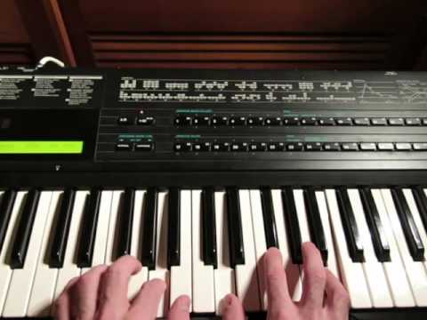 80's Synth Keyboard Chords Explained - Triad Suspensions + Simple Harmonic Transitioning