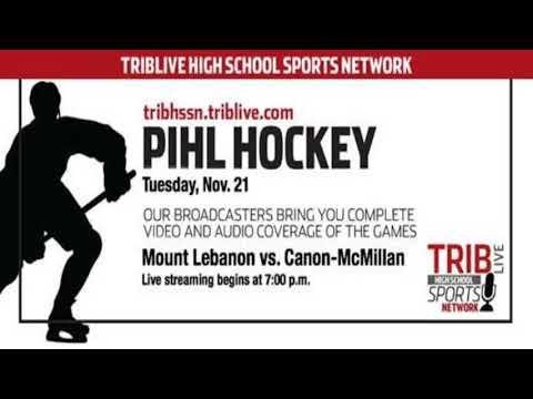 PIHL Hockey - Mount Lebanon at Canon-McMillan