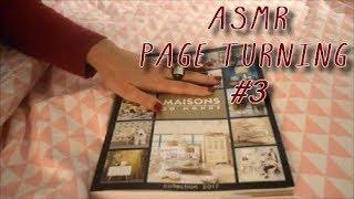 ASMR: Page turning Decoration whispering #3 (French)