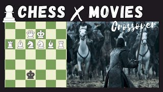 Chess × Movies Crossover | Never Seen Before | Chess Memes