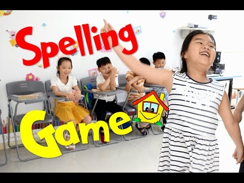 Spelling Game - ESL Game -  For You Class Or Your Home - ESL Teaching Tips