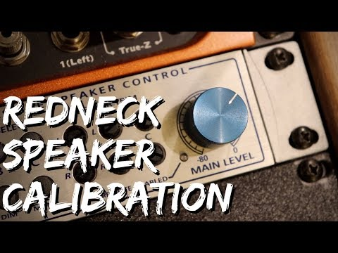 How to CALIBRATE YOUR SPEAKERS for Mixing & Mastering