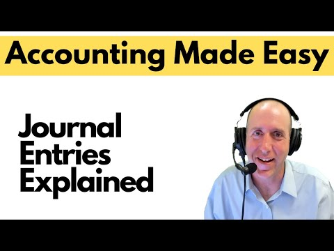 FA9 - Journal Entries Explained