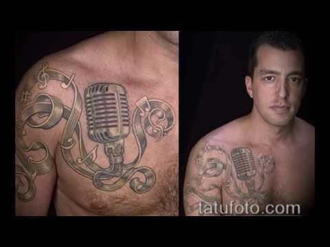 Значение музыкальных тату - примеры готовых тату на фото