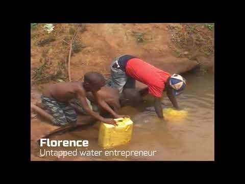 Meet Florence - Untapped water entrepreneur