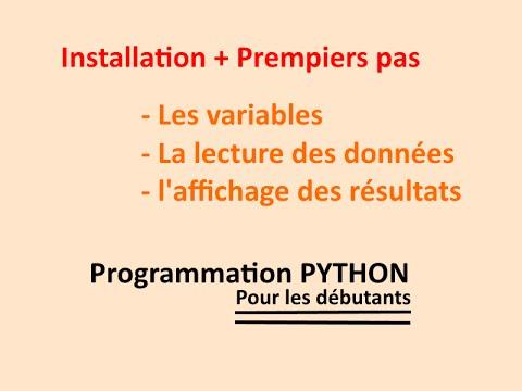 Python: comment installer et utiliser Python