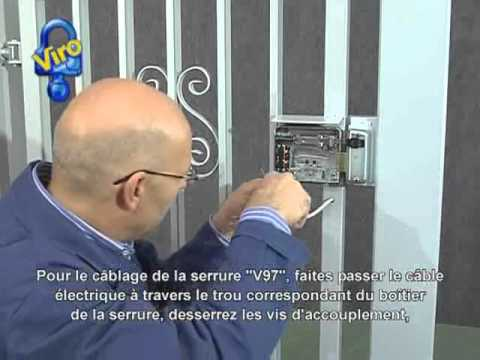 serrure lectrique v97 youtube. Black Bedroom Furniture Sets. Home Design Ideas