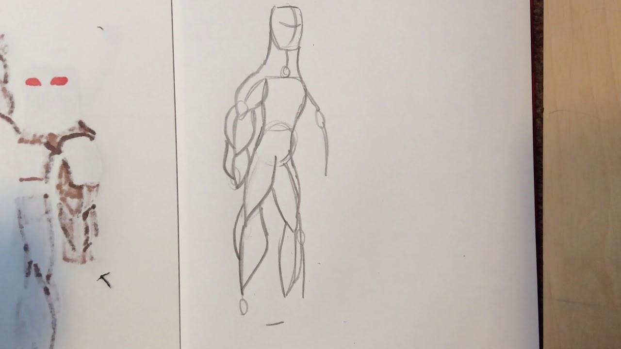 How To Draw Male Anatomy Youtube