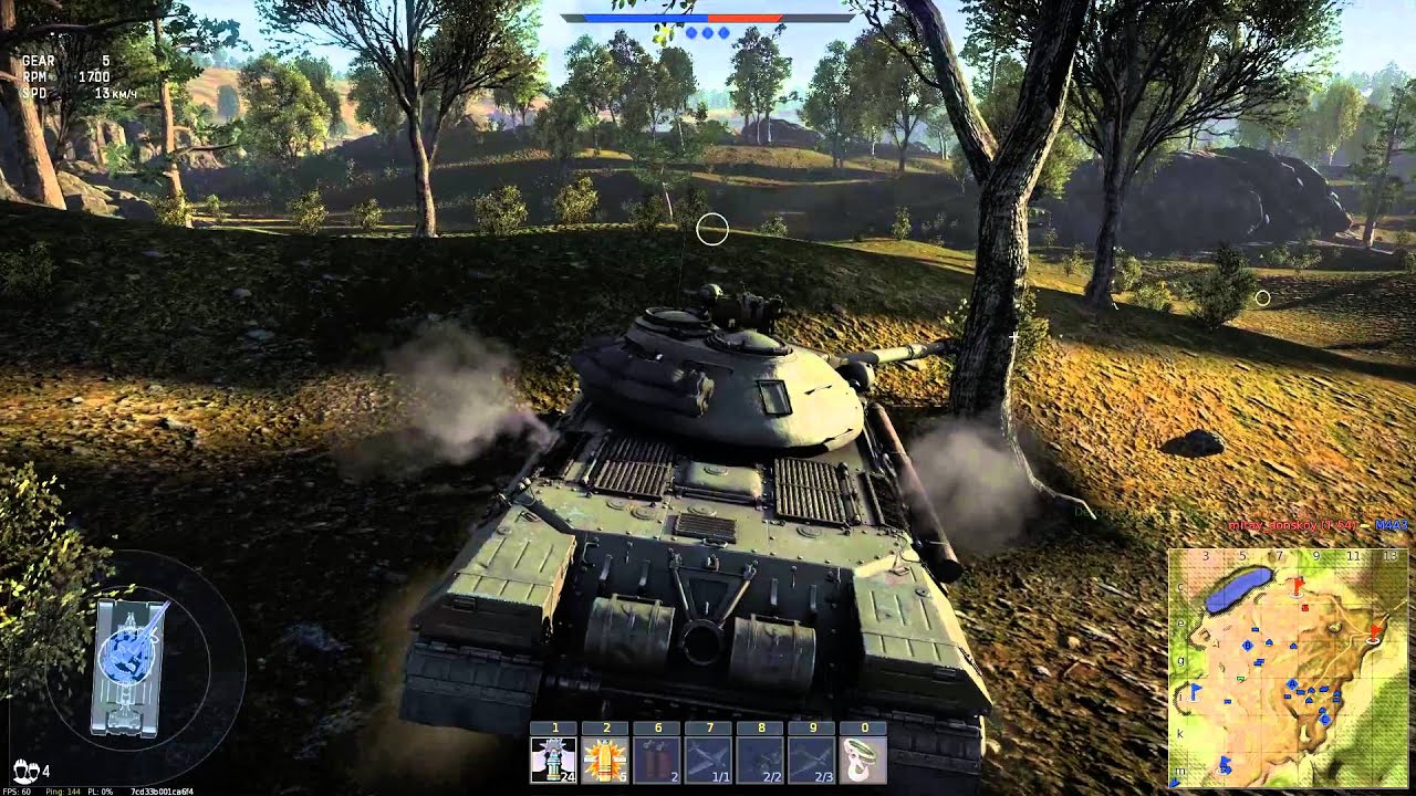 War Thunder карта кубань и советские танки Youtube