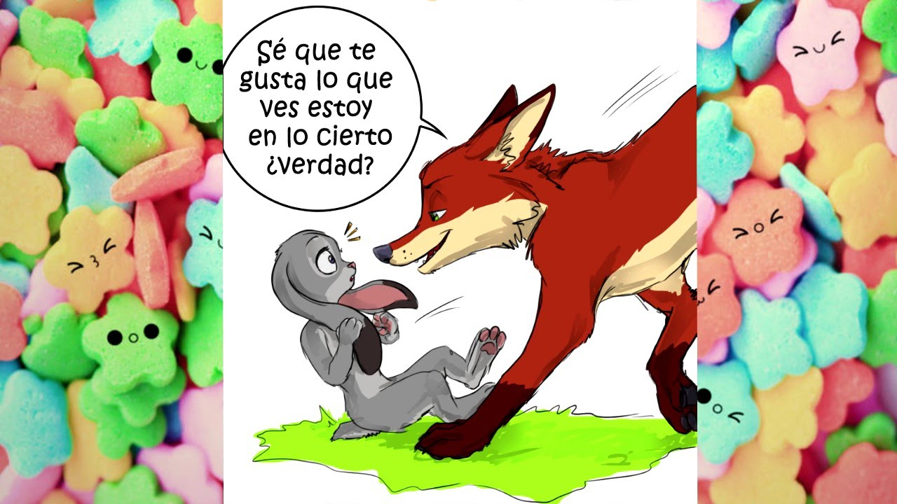 nick x judy zootopia comic en espa ol   amand4   youtube