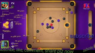 Part 6/online carrom board/carrom disc pool online game/important tips game/ game online play