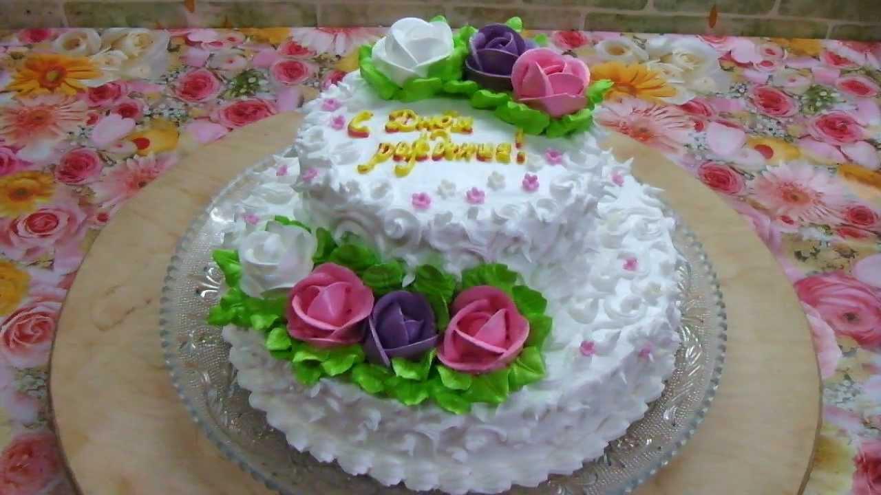Как украсить торт для папы своими руками