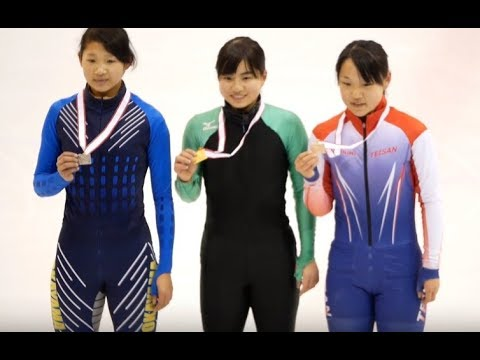 女子 Jr. 3000m 決勝 全日本都道府県対抗ショートトラック2018 tv2ne1