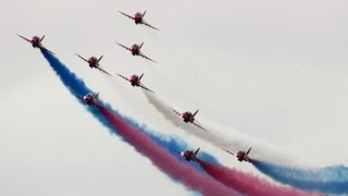 RIAT 2013 RAF Red Arrows  The Royal International Air Tattoo