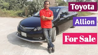 Toyota Allion Model 2010 Price & Review | Watch Now | Used Car | December 2019 |