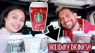 our-first-time-trying-starbuck-s-holiday-drinks-hot-iced-blended