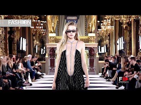 BALMAIN Spring 2020 Paris - Fashion Channel