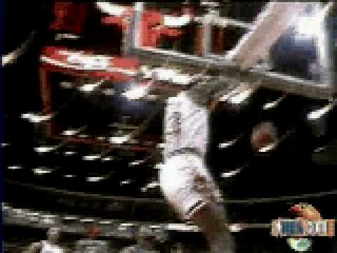 Michael Jordan dunk vs New Jersey - NBA Regular Season 1987/1988