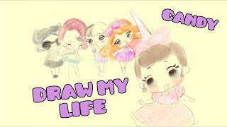 DRAW MY LIFE di CANDY 🦄 [Speciale 300k Iscritti]