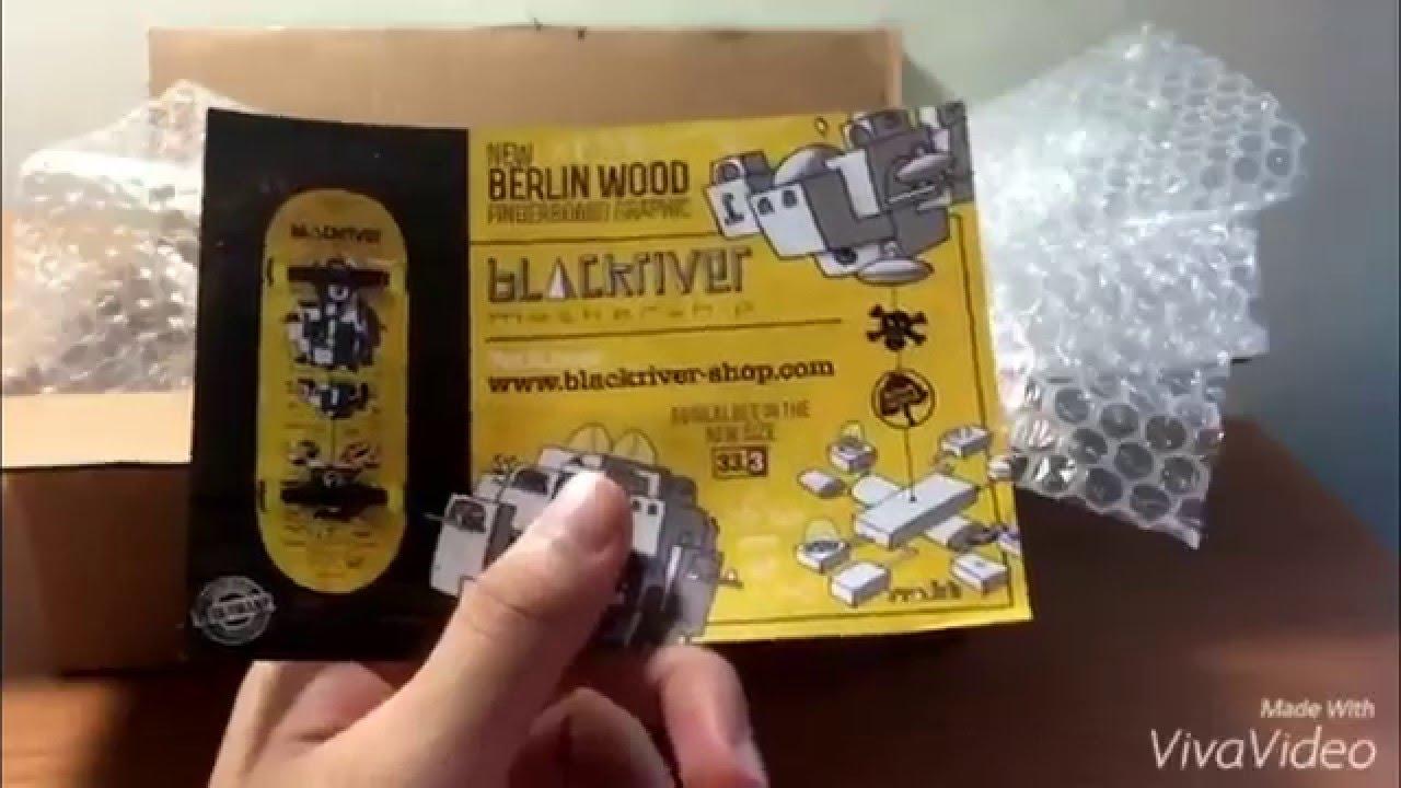 Blackriver BerlinWood Mothership - KARAT Fingerboarding Unboxing