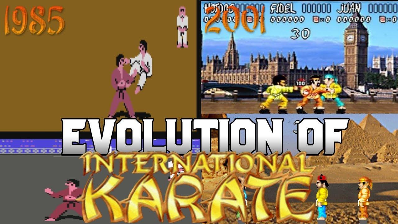 Graphical Evolution of International Karate (1985-2001)