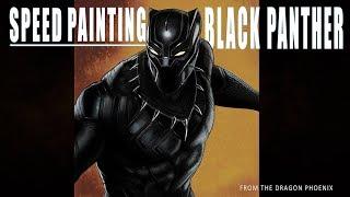 Epic Speed Paintings: Black Panther (Marvel) /Digital Timelapse
