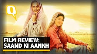 Saand Ki Aankh Review: RJ Stutee reviews the Taapsee and Bhumi starrer film | The Quint
