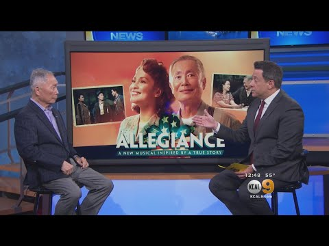George Takei Talks His New Musical 'Allegiance'