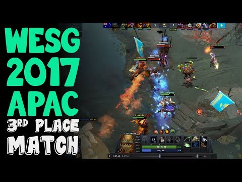 Seventh Heaven vs Team Kazakhstan WESG 2017 APAC 3rd Place Match Highlights
