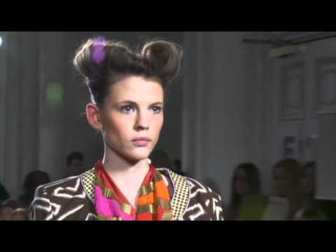 boogie & the historymaker - sass & bide - london fashion week - 2011