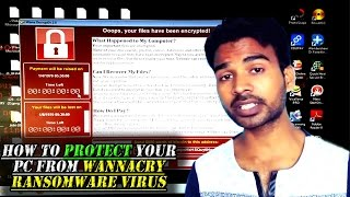 How To Protect Your PC Ransomware Virus | Wanna Cry