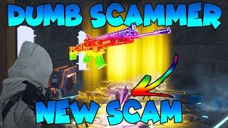 *NEW SCAM* CAN'T PICK UP GUNS! *ANY GUNS* (Scammer Gets Scammed) Fortnite Save The World