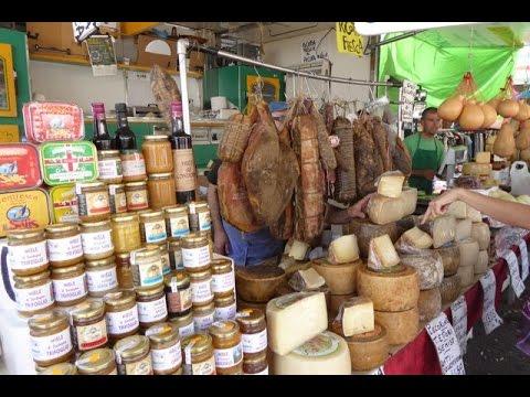 Friday Market in Palau -  Sardinia - Italy