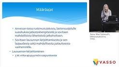 Monitoimijainen arviointi yhteistyöalueella, Anna-Maria Salmivalli, Oikeuspsykiatria, TYKS