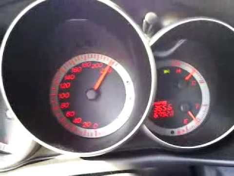 Mazda 3 2.0 (stock) TOP SPEED - YouTube