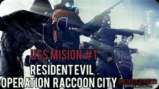 Resident Evil : Operation Raccoon City Walkthrough Español Misión 1 (Contención)